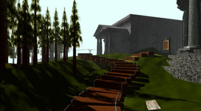 Review A Bad Game: Myst (Nintendo DS Version)