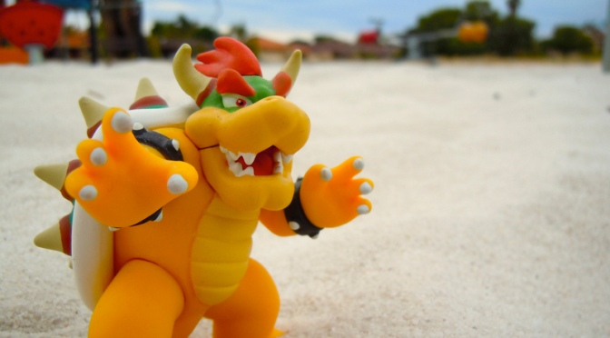 Beating Bowser is the Key to Happiness