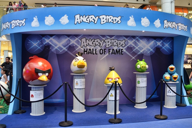 Angry Birds, Museum-Bound