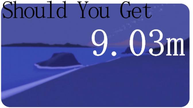 Should You Get: 9.03m