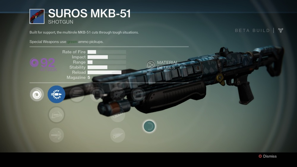 Destiny Shotgun