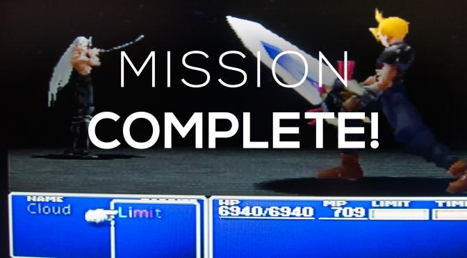 Final Fantasy VII: Finally Finished!