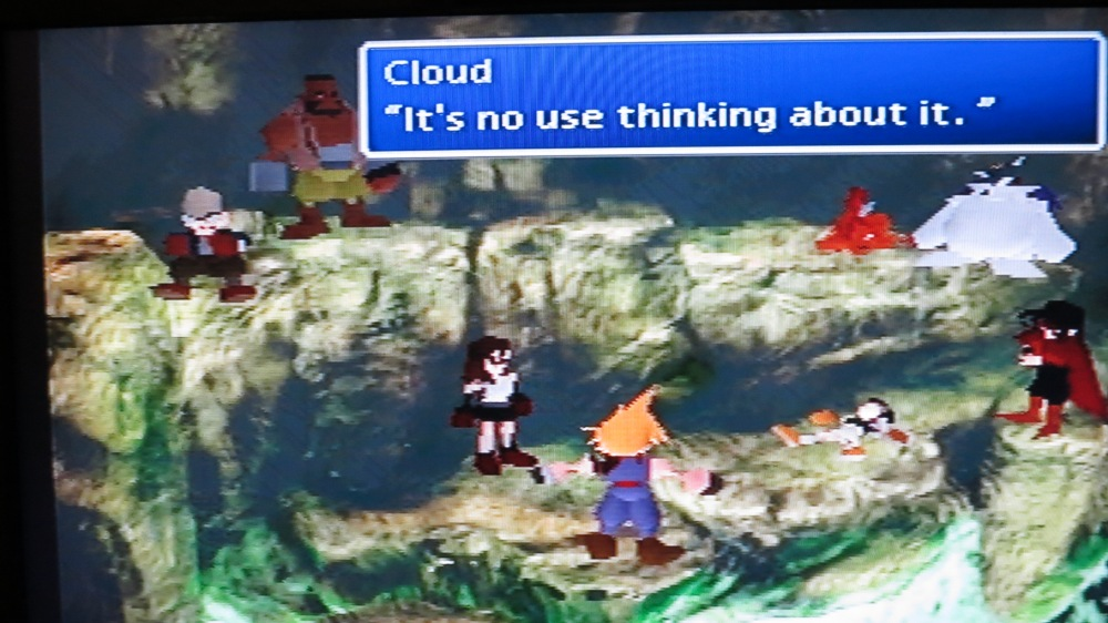 End of FFVII