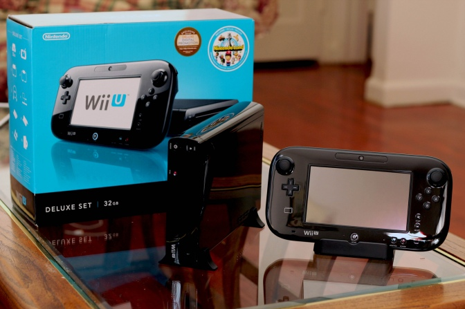 The Duck Prepares for the Wii U