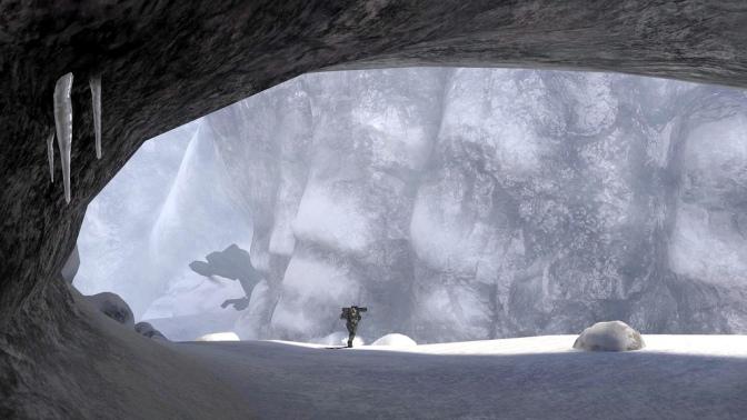 Halo 3 Snow Cave