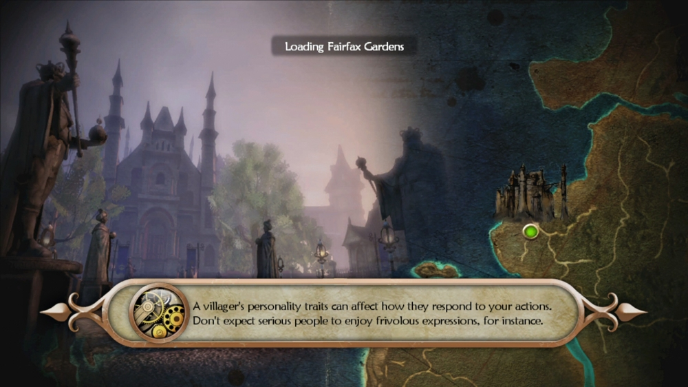 Fable 2 Loading Screen