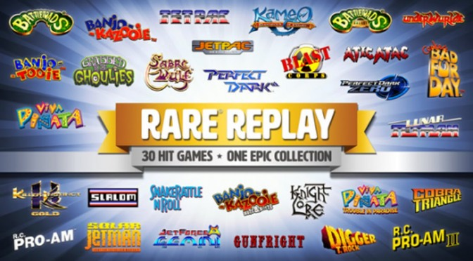 Considering <i>Rare Replay</i> and Video Game Compilations