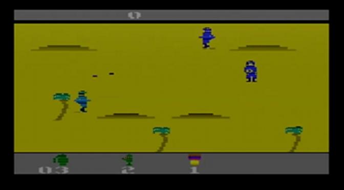 YouTube Time: Activision Anthology (PS2) – Commando (1988) – Nostalgic Notions