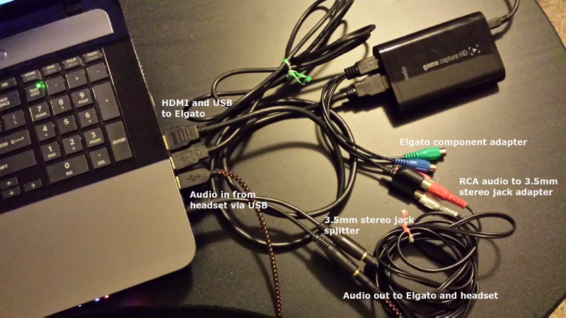 Elgato PC capture setup