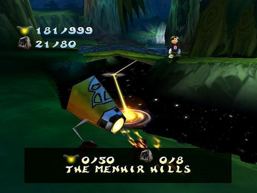 Unforgettable: The Flying Shell of Rayman 2