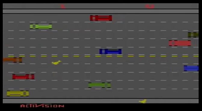 YouTube Time: Activision Anthology (PS2) – Freeway (1981) – Nostalgic Notions