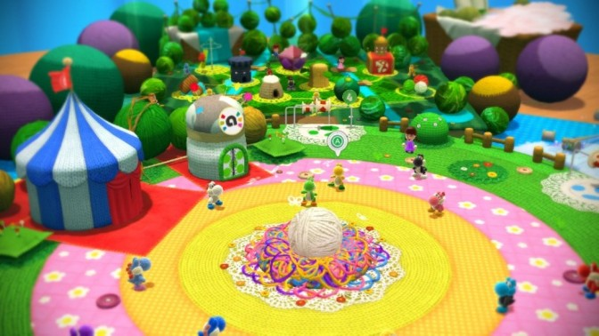 #Listmas2015: My Favorite Yoshies in Yoshi's Woolly World