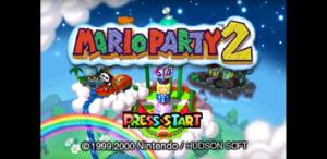 MarioParty2TitleScreen