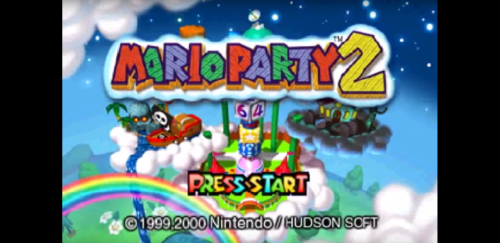 MarioParty2TitleScreen