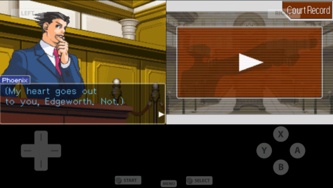 Image captured by cary, from Phoenix Wright: Ace Attorney © Nintendo