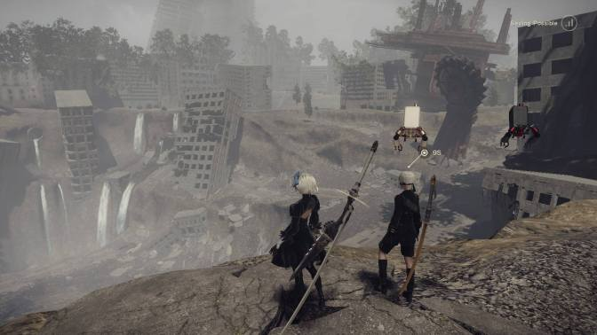 Players, Characters, and Nier
