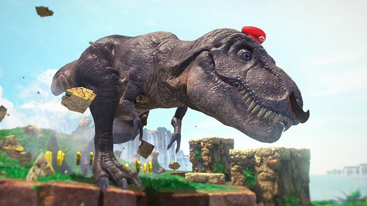 Mario T-rex