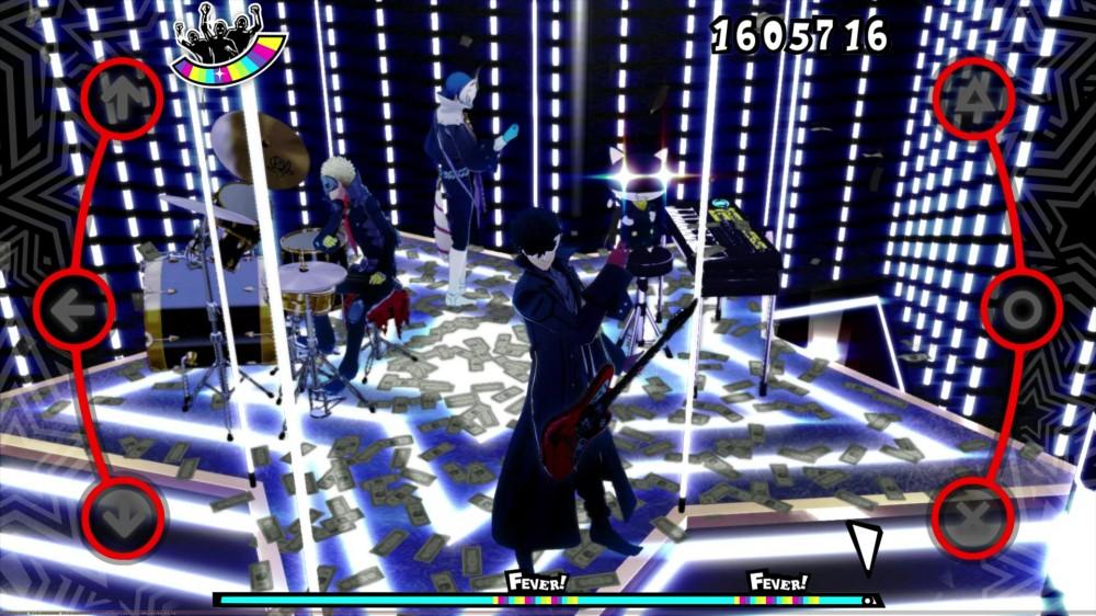 Persona 5 Dancing in Starlight Promotional Screenshot