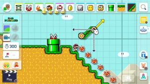 Super Mario Maker 2 - making levels