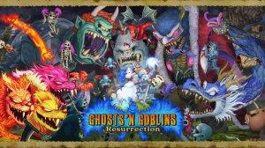 Ghost n Goblins Key Art - Small